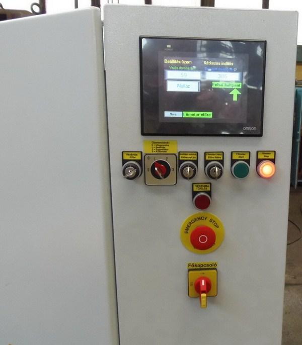DKS 100 excenter prés villamos vezérlés