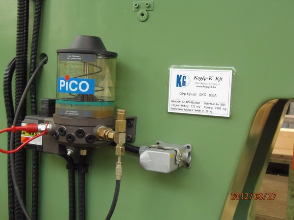 DKS 100 excenter prés