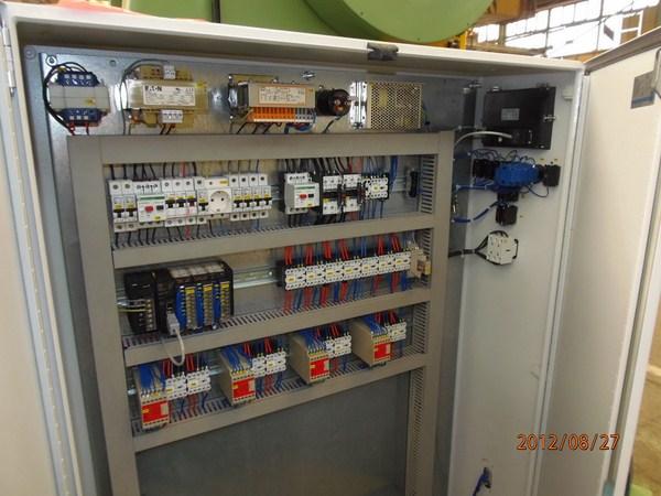 Új gyártású DKS 100 excenter prés villamos szekrénye