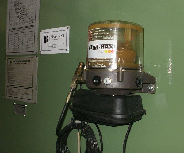 DKSM 100 excenter prés felújítása (elektromos zsírzás)