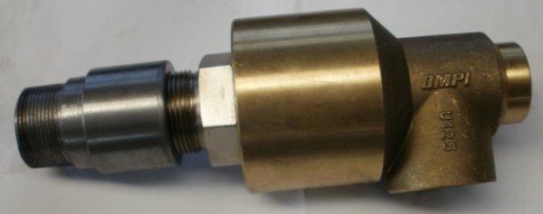 Forgó bevezető a pneumatikus tengelykapcsoló-fék egységhez